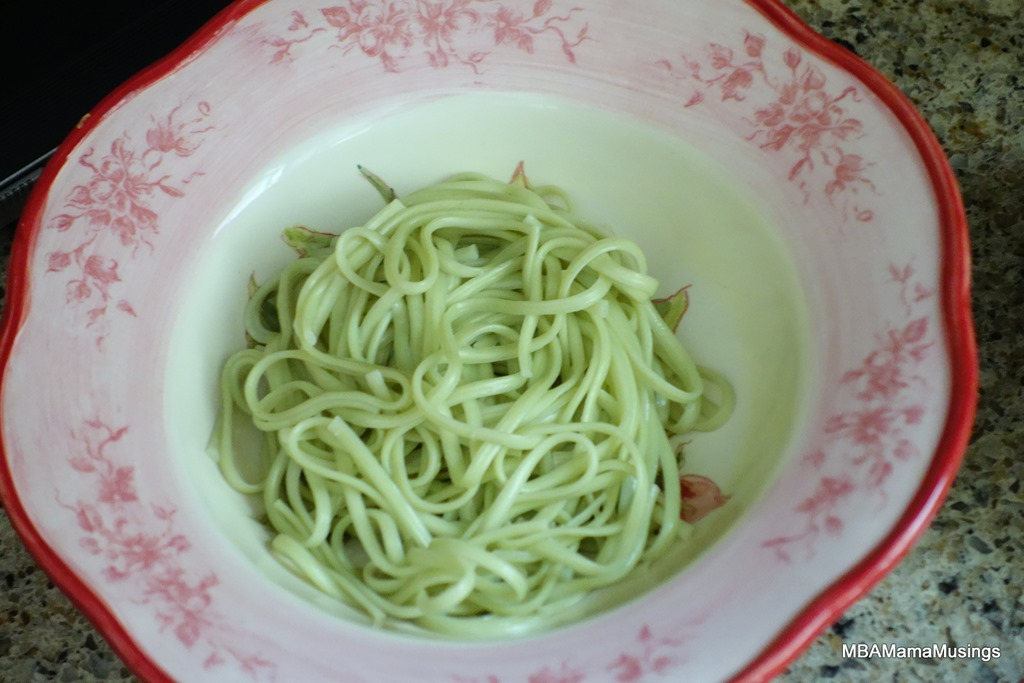 Welcome in Chinese New Year with Chicken and Snow Pea Noodle Bowl # ...