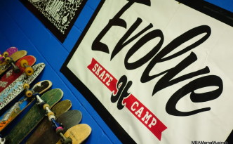 Evolve Skate Camp Logo