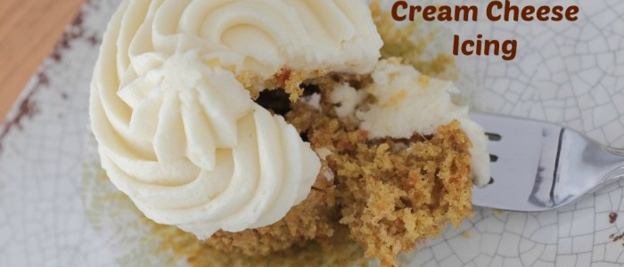 Carrot Ginger Cupcakes Cream Cheese Icing