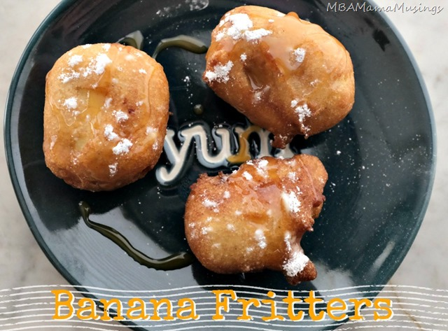 Easy Banana Fritters After School Snack
