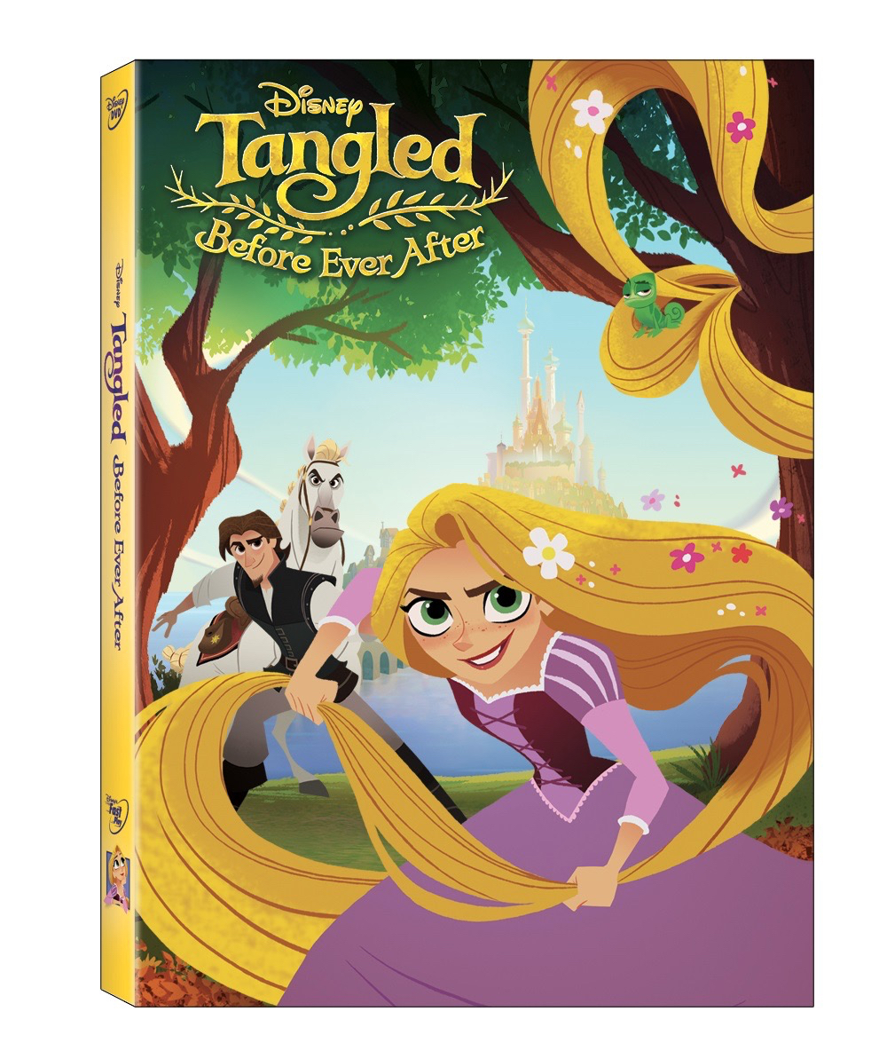 Disney's Tangled Before Ever After Movie DVD