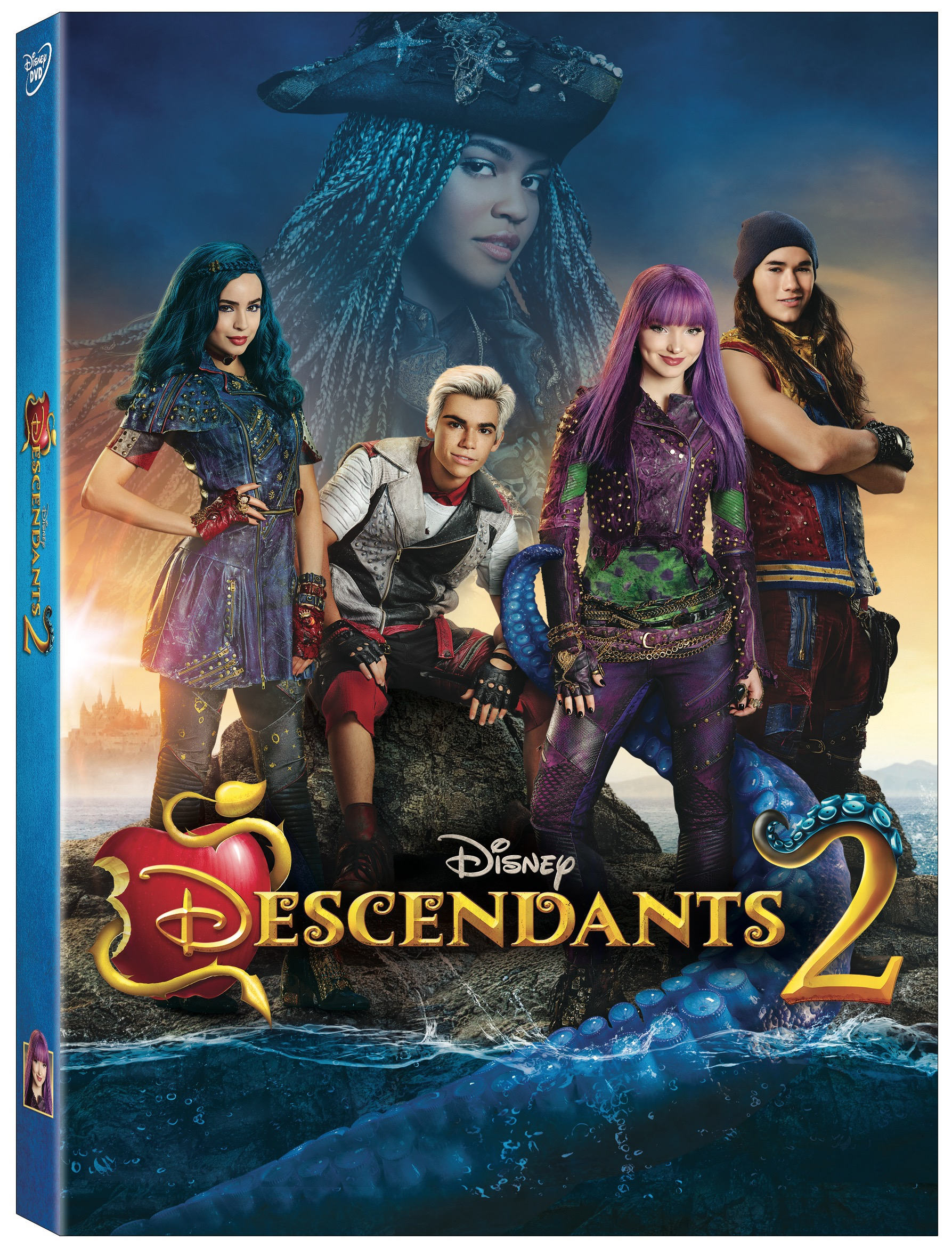Disney Descendants 2 DVD Giveaway