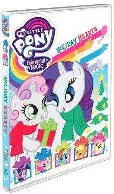 My Little Pony Holiday Hearts DVD